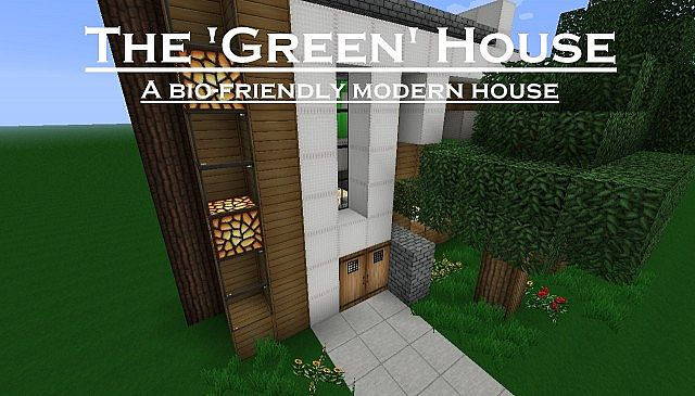 Green House An Eco Friendly Modern House Like