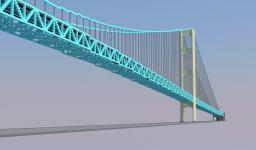1:1 Mackinac Bridge Minecraft