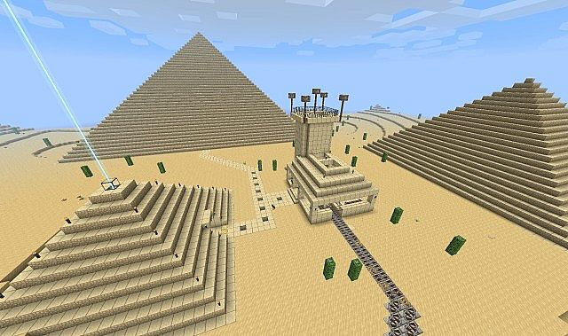 The Great Pyramids with Mob Arena