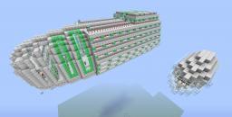 Spaceship - Blargon 9 Minecraft Map & Project
