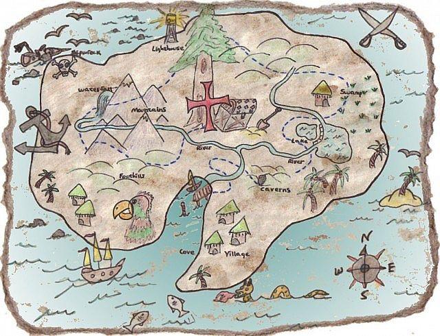 Treasure Island Minecraft Map