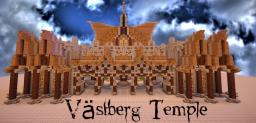 Västberg Temple Minecraft Map & Project