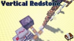 Vertical Redstone Tutorial - Minecraft Redstone Minecraft