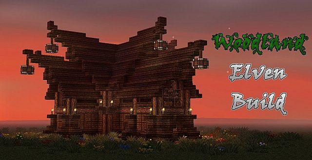 Woodland Elven Build Minecraft Project