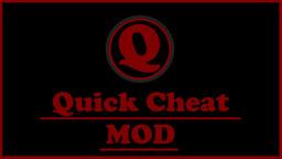 Quick Cheat MOD Minecraft Mod