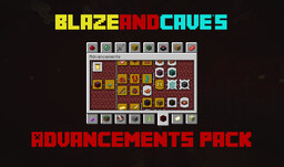 BlazeandCave's Advancements Pack [1.16 Datapack] Minecraft Data Pack