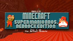Minecraft - Super Mario Bros. Edition for Minecraft Bedrock 1.16 v1.4 Minecraft Texture Pack
