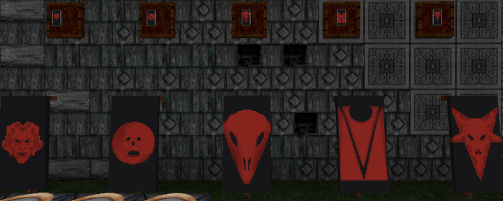 New banner patterns