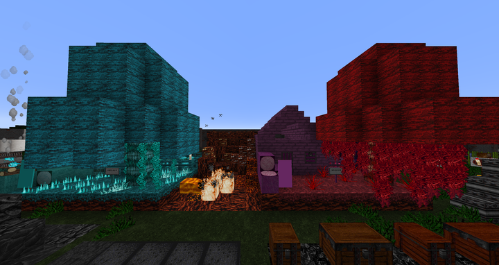 Warder & Crimson Blocks