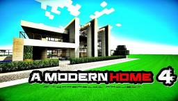 MODERN HOME 4 Minecraft Map & Project