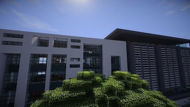 Greenfield Project Millenium Bank Headquarters Minecraft