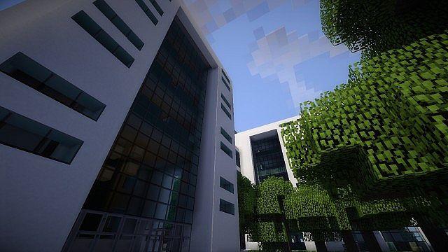 Greenfield Project Millenium Bank Headquarters Minecraft