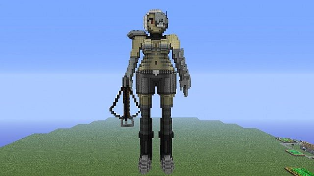 Gallery For gt Minecraft Skeleton Girl Anime