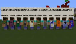 [ALL SKILLCAPES] RUNESCAPE SKILLCAPES FOR NOPPES CUSTOM NPC MOD! Minecraft