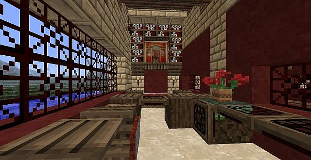 Villa Plinius A Peristylium Styled House Minecraft Project