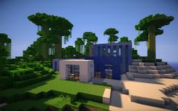 """Cool"" - A modern home Minecraft Map & Project"