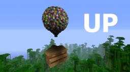 UP  Balloon House (schematic added) Minecraft Map & Project