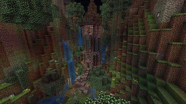 Rapunzel S Tower Minecraft Project