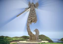 Angel statue(HOMM5) Minecraft Project