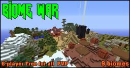 Biome War [PVP|ADV] Minecraft Map & Project