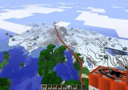 The Great Little Wall Of TNT Minecraft Map & Project