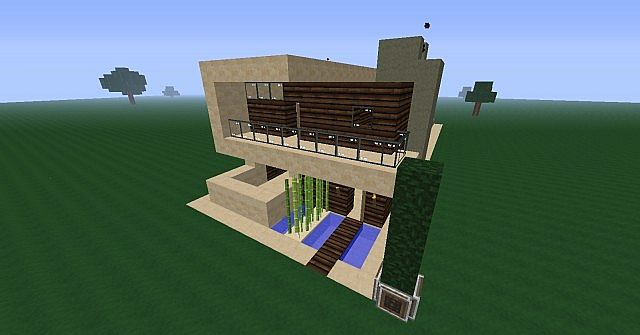 Modern Styled Survival House V 1 0 1 4 7 Minecraft Map