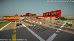Gas Station - Shell Minecraft Map & Project