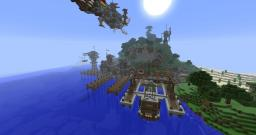 Port Town Minecraft Map & Project