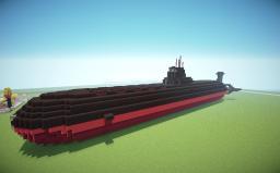 Typhoon(Akula) class Submarine Minecraft
