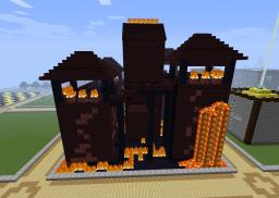 Nether kingdom (Nether Fortress part) Minecraft Map & Project