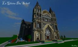 La Gloire du Soleil (Gothic Cathedral) Minecraft Map & Project