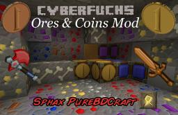 [1.4.7|1.4.6/v1.8] Ores & Coins Mod - Sphax PureBDCraft Add-on Minecraft