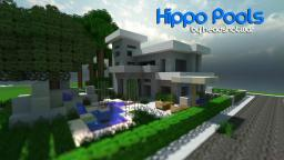 Hippo Pools (a modern build) Minecraft Project