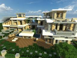 | Modern Mansion 3 | Series 1 | Minecraft