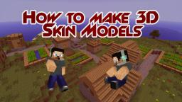 Make 3D PNG Models of your Minecraft Skin Minecraft Blog Post