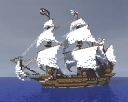 HMS Modified Revenge galleon Minecraft