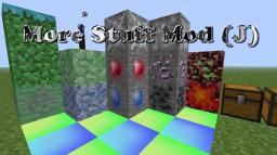 More Stuff Mod (J) v3.4 Minecraft