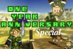-One Year Anniversary Blog- Minecraft Blog