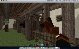 Medieval Horse Stable Minecraft Map & Project