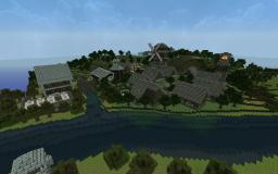 Medieval City WIP Minecraft Project