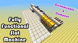 Fully Functioning Slot Machine Minecraft Map & Project