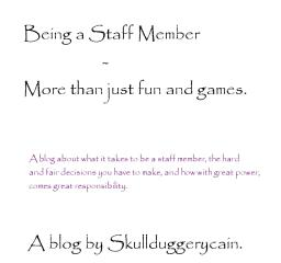 Being a staff member - It's not all fun and games. (Thanks so much for pop reel!) Minecraft Blog