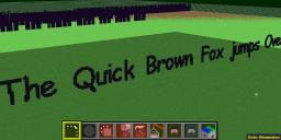 MINETEXT - MCEdit filter to write words into the world Minecraft