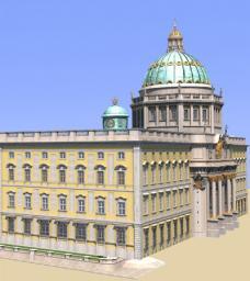 Berliner Stadtschloss Minecraft Map & Project