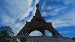 Eifel Tower - DOWNLOAD Minecraft Map & Project