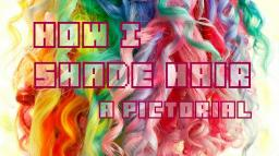How I Shade Hair - A Pictorial Minecraft