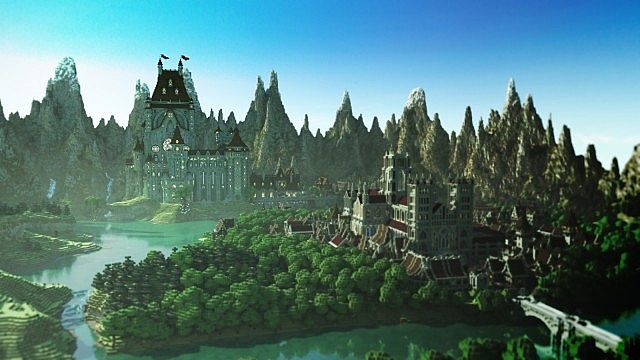 Lem castle cinematic minecraft project for Crazy craft 3 0 server