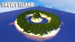 [Surviving] Snowy Island Minecraft Map & Project