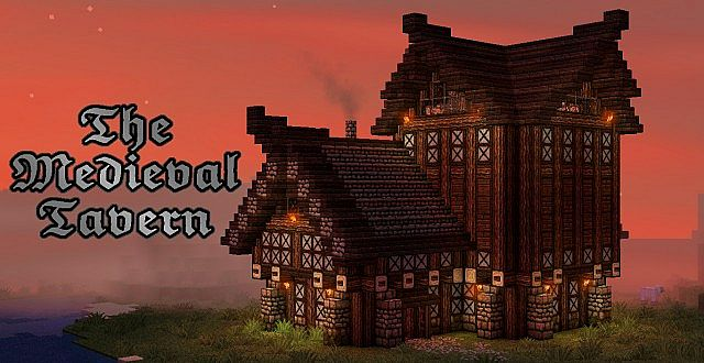 The Medieval Tavern Minecraft Project