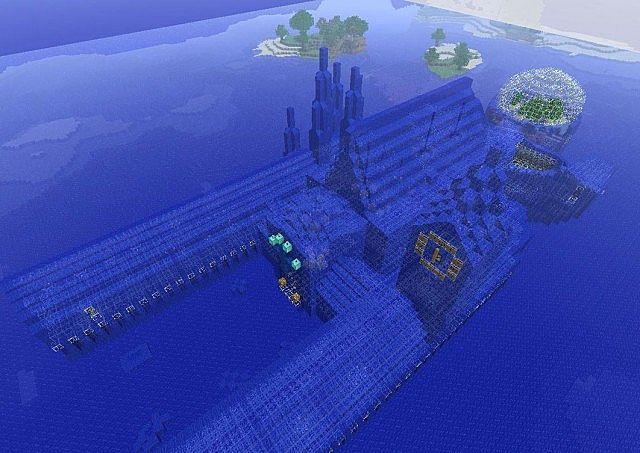 Water City Minecraft Map